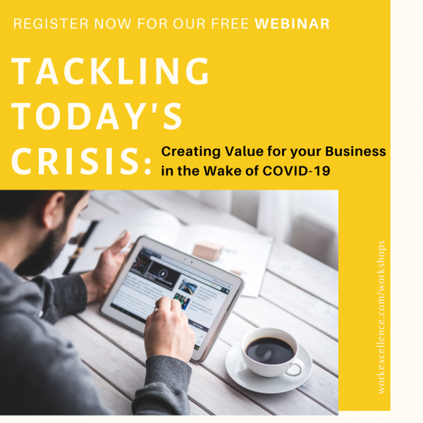 Tackling Today's Crisis Seminar - Covid 19 - Best Business Workshop