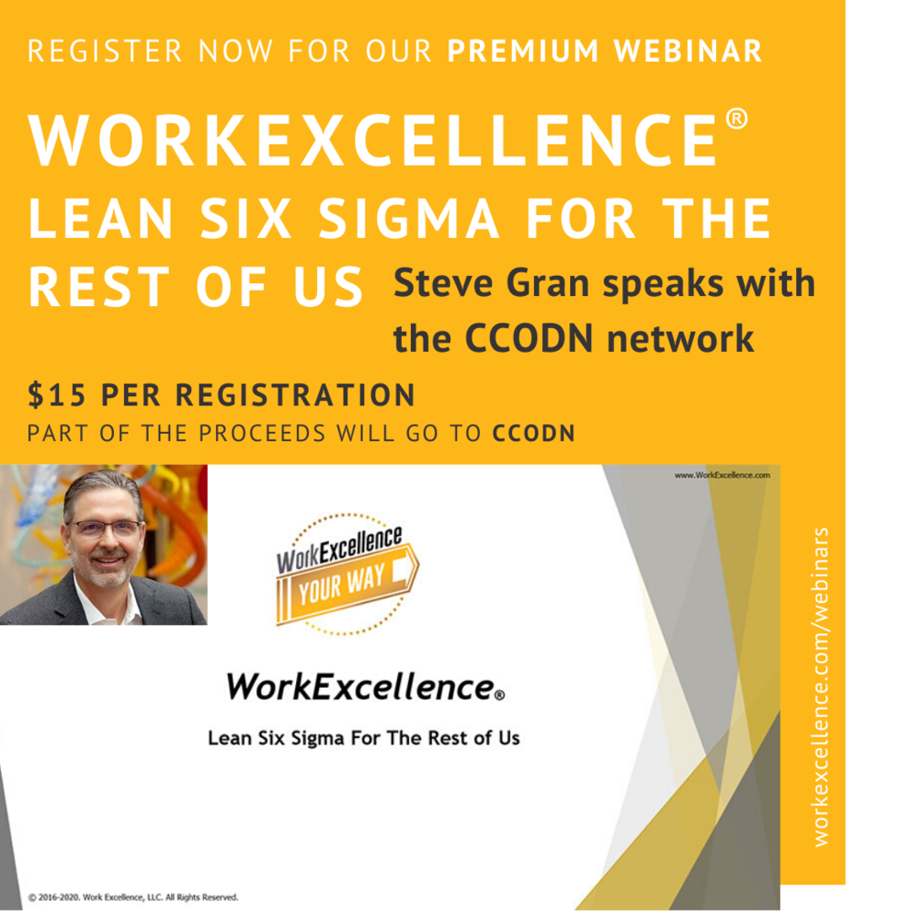 Work Excellence Webinar Lean Six Sigma