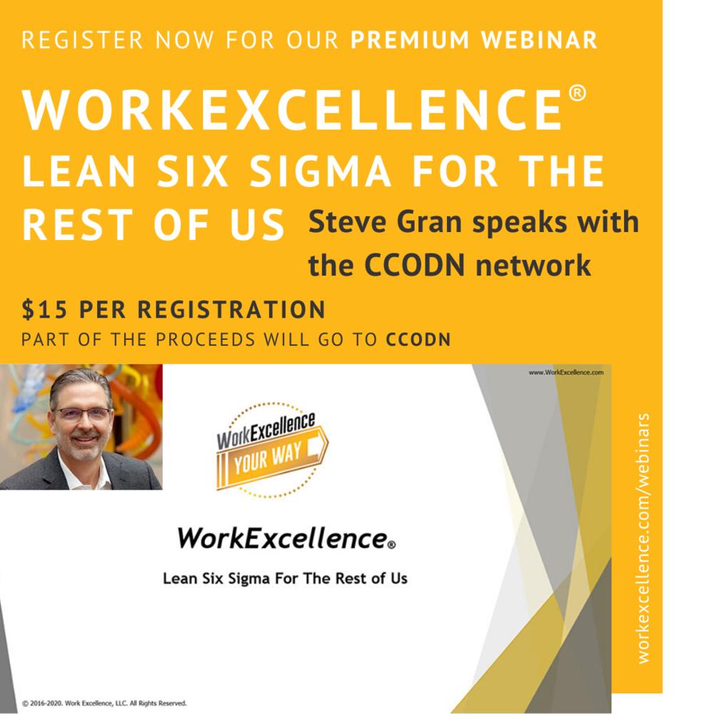 online business webinars Lean Six Sigma